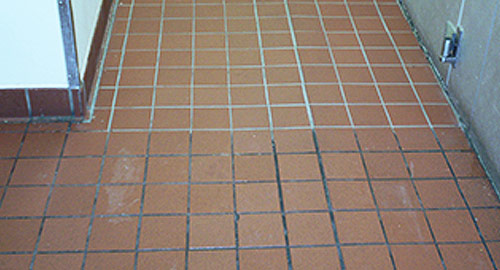 cleaning ceramic tile and stone