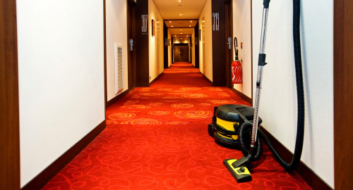 floor care for hospitality settings