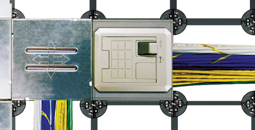 starnet low profile wire management system