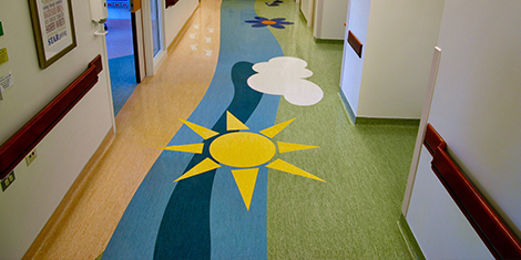 Mr. David's Flooring International - Rush University Medical Center Pediatric Intensive Care Unit