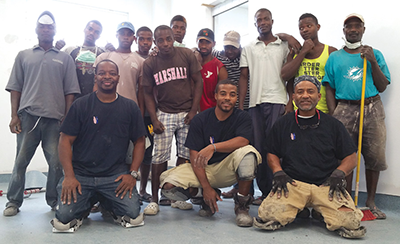 Starnet Member Gives Back for Haiti Rebuild