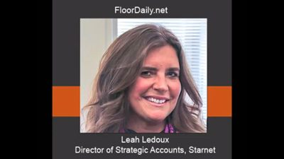 Leah Ledoux Discusses Starnet's Member Specifier Team & Success with National Accounts