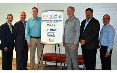 Starnet and NTCA Partner for Tile and Stone Training