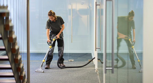 floor care for corporate settings