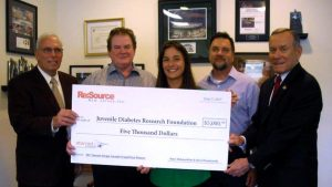 Resource-JDRF-Charity-Donation
